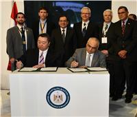 صور  وزير البترول يوقع 5 اتفاقيات على هامش «إيجبس 2019»