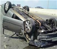 إصابة 15 مواطنا في انقلاب سيارة ميكروباص على الطريق الزراعي بالبحيرة