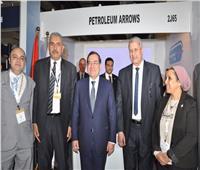 وزير البترول يزور جناح شركة السهام في معرض إيجبس 2019