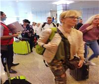 وصول أول رحلة طيران روسية إلى مطار الغردقة