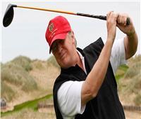 ترامب ينفق 50 ألف دولار على رياضة «الجولف»