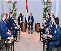 الرئيس السيسي يستقبل رئيس شركة «رودا أند شوارتز» العالمية