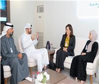 وزيرة التخطيط تبحث التميز الحكومي مع وزير مجلس الوزراء الإماراتي