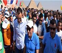 وزير الشباب يتفقد منطقة «باحة أبوالهول» المحتمل إجراء قرعة بطولة كأس الأمم الأفريقية بها