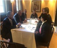 وزير الخارجية يلتقي بوفد اللجنة اليهودية الأمريكية في ميونخ