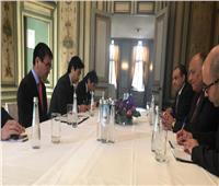 وزير الخارجية ونظيره الياباني يبحثان تعزيز الأولويات التنموية لأفريقيا