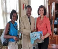 السفيرة المصرية في بورونديتعقد لقاءات هامة لدعم التعاون في بوجمبورا