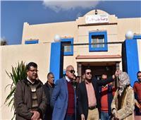افتتاح الوحدة الصحية بالإسكان الاجتماعي وتدشين منظومة النقل الداخلى بمدينة الشروق