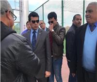 وزير الشباب يتفقد «المدينة الرياضية» ببورسعيد