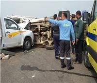 مصرع وإصابة 14 شخصا بطرق الشرقية