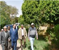 محافظ أسوان يُطلق إشارة البدء في تطوير «الحديقة الاستوائية الدولية»