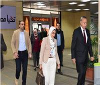 وزيرة الصحة تبدأ جولتها بمستشفيات محافظتي قنا والأقصر