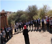 البيئة تنظم معسكرا بيئيا للشباب بمحمية سالوجا وغزال