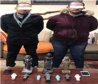 ضبط شقيقان بحوزتهم 10 تماثيل أثناء عرضها للبيع بدمياط