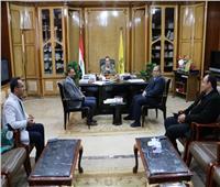 محافظ شمال سيناء يؤكد الاهتمام بالخدمات الصحية للمواطنين