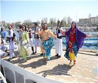 صور| كرنفال فني يضم 16 دولة احتفالاً برئاسة مصر للاتحاد الإفريقي