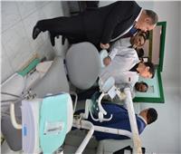 محافظ الغربية في زيارة مفاجئة لمركز الرعاية الصحية بقرية طنبارة