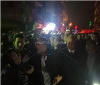 محافظ القاهرة يتفقد حريق الزاوية الحمراء.. فيديو وصور