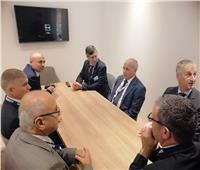 «العصار» يلتقى ممثلى الشركات العالمية بمعرض ايديكس ٢٠١٩ بأبوظبي