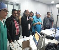 نجاح 11 عملية جراحية بقسم قسطرةالقلب الجديد في مستشفىالعريش
