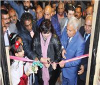 وزيرة الثقافة ومحافظ أسوان يفتتحان قصر ثقافة الرديسية في مركز إدفو