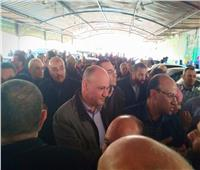 رئيس تحرير الأخبار يشارك في جنازة «خالد توحيد»