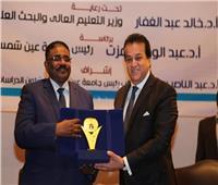 صور| وزير التعليم العالي يفتتح الملتقى الأول للجامعات المصرية والسودانية