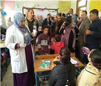 تجريع ٨١٠ ألف تلميذا ضد الطفيليات المعوية بمدارس الشرقية