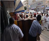 تكثيف الحملات الأمنية في محافظة مطروح