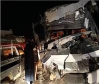 مصرع وإصابة 20 عامل في حادث تصادم بالقاهرة الجديدة