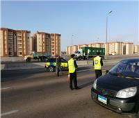 مدير المرور يتفقد الطرق الرابطة بين المحافظات