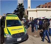 إصابة 11 عاملة زراعية في انقلاب «تروسيكل» ببني سويف