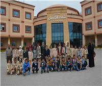 طلاب 12 مدرسة يتبرعون لمرضى السرطان بمستشفى شفاء الأورمان بالأقصر