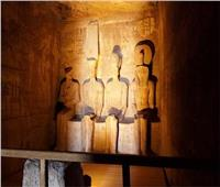 الجمعة .. ظاهرة تعامد الشمس على تمثال رمسيس الثاني