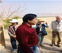 وفد متعدد الجنسيات يزور آثار محافظة المنيا