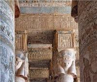 بالصور| «معبد دندرة» كتاب شامل للفكر الديني المصري