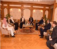 صور| رئيس الرقابة الإدارية يستقبل رئيس هيئة مكافحة الفساد السعودية