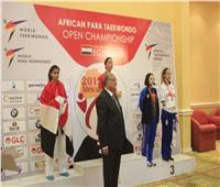 سلمى على تتوج بفضية بطولة أفريقيا للباراتايكوندو