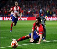 تقنية «VAR» تنقذ يوفنتوس وتحرم أتلتيكو مدريد من ركلة جزاء