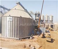 صور| القمح «في الحفظ والصون».. تجهيزات وتوسعات متلاحقة بصوامع الغلال