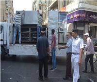 ضبط 68 مخالفة بحملة لإزالة الإشغالات بمطروح