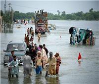 ارتفاع عدد قتلى الفيضانات العارمة بباكستان إلى 26 شخصا