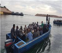 صور| جولة نيلية للسفراء الأفارقة بأسوان
