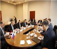 تفاصيل زيارة الفريق مهاب مميش في عيون وسائل الإعلام الروسية