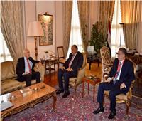سامح شكري يبحث مع «الرجوب» مستجدات عملية المصالحة الفلسطينية