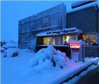 صور.. «لاس فيجاس» تغرق في الثلوج