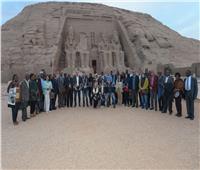 صور| العناني: «أسوان عاصمة الشباب الأفريقي»