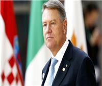 رئيس رومانيا: نقدر جهود الرئيس السيسي لدعم الأمن في المنطقة