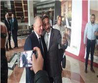 أبو ريدة يستقبل أعضاء الجمعية العمومية لاتحاد كرة القدم