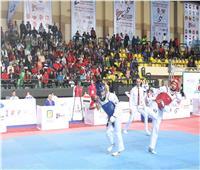 «هداية ملاك» تضمن ميدالية بطولة مصر الدولية للتايكوندو «G2»